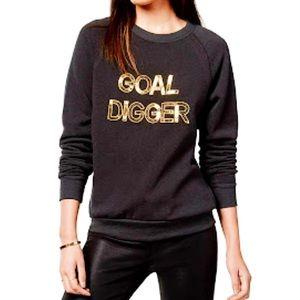 """Bow & Drape Tops - Bow & Drape """"Goal Digger"""" Sweatshirt"""